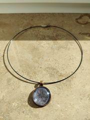 Vintage Medallion mit Halskette
