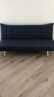 Verkaufe neuwertiges Sofa in blau