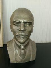 Bronzebüste Lenin Künstlerarbeit Unikat