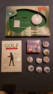 Golf Weihnachts- Geschenkeset