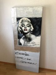 Marilyn Monroe Wandbild