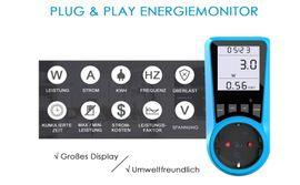 Haushaltsgeräte, Hausrat, alles Sonstige - Stromkostenmessgerät Stromzähler Leistungsmessgerät NEU