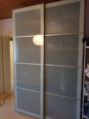 Ikea Pax Sekken Schiebetür Frostglas