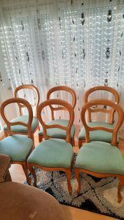 Ich verkaufe 6 schöne Stühle