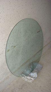 Bodenschutzplatte-Glas 90cm Durchm