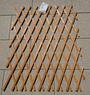 Rankgitter aus Holz