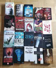 Krimi Thriller Bücher Paket