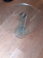 Schöner wertiger Glastisch