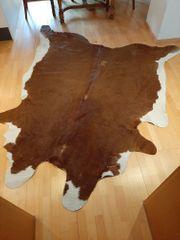 vergebe echten Kuhfell - Teppich