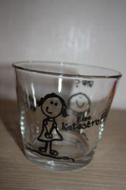 Stabiles- mittelgroßes Glas - Unikat