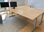 2 Büroschreibtische Ikea zu verschenken