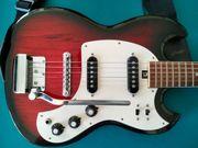 E-Gitarre Tacoma Rarität mit Verstärker