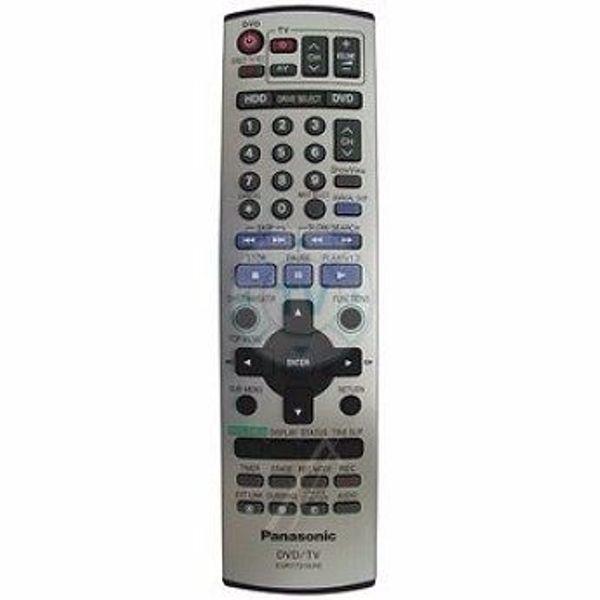 Suche Original Fernbedienung Panasonic DVD-Recorder DMR-E85HEG9K - Gersthofen - Suche FUNKTIONIERENDE Original Fernbedienung Panasonic DVD-Recorder DMR-E85HEG9K. Die Ferndedienung HAt die Bezeichnung EUR7721KHO und schaut so aus wie auf dem BIld. - Gersthofen