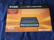 D-Link DSL-321B ADSL2 Ethernet Modem