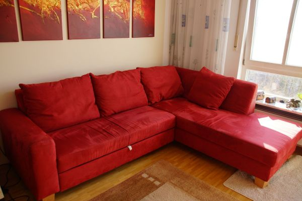 ledersofa rot affordable sofa klassische mbel rot with. Black Bedroom Furniture Sets. Home Design Ideas