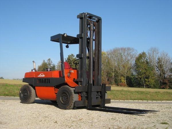 Linde Diesel Stapler H70D - 7000kg