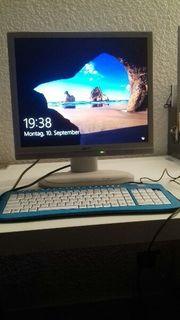 HP Workstation PC mit Bildschirm