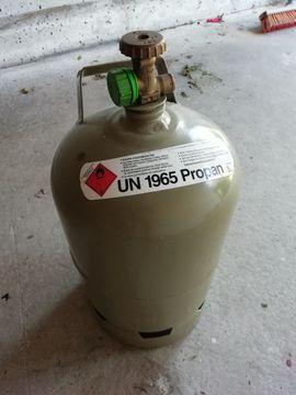 Eigentumsflasche 5KG für Grill, Unkrautbrenner etc