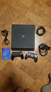 Playstation4 Pro 1TB mit Spielen