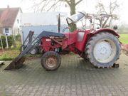 IHC 624S Traktor mit Stoll