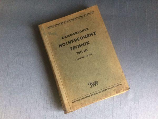 Hochfrequenztechnik Teil III Gleichrichter 1942