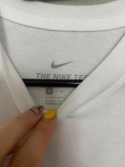 Nike T-Shirt weiß Gr M