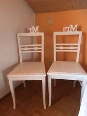 Stühle für Hochzeit