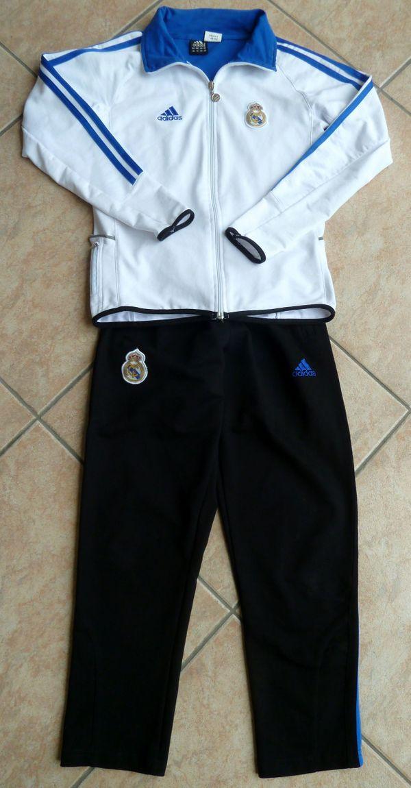 Adidas Trainingsanzug Real Madrid Gr