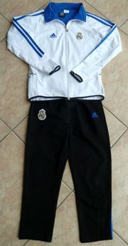 Adidas Trainingsanzug Real Madrid Gr