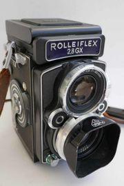 6 x 6 Rolleiflex Kamera
