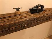 Altholz Regal Holzbohlen