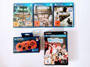 Playstation 4 PS4 Spiele und