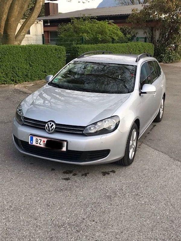 VW Golf VI Variant 4