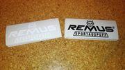 Remus Sportauspuff Aufkleber Sticker ca