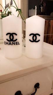 Kerzen weiß Chanel