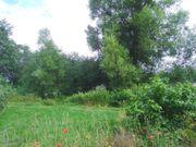 Gartengrundstück am Ortsrand mit Bach