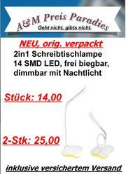 2in1 Schreibtischlampe 14