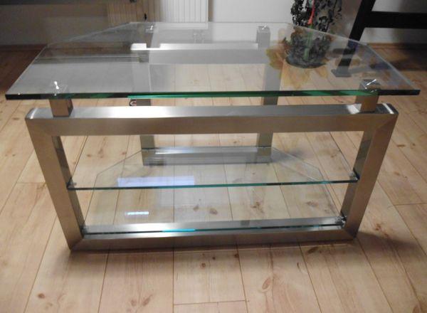 Verkaufe Einen Fernsehtisch Glastisch Tisch Tv Phone Videotisch Top