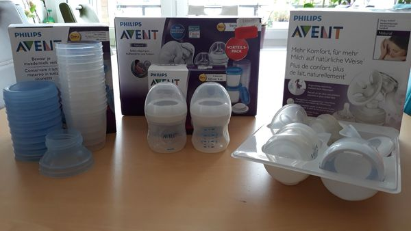 Philips Avent Natural Handmilchpumpe Starter-Set