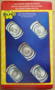 Halogen Spot Set 5x20 Watt