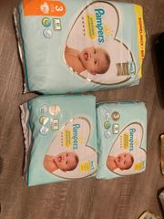 Pampers Premium Protection und Baby-dry