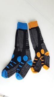 Kinder-Ski-Socken Größe 35-38