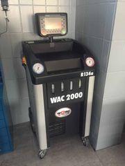 WÜRTH WAC 2000 R134a Klimaservicegerät