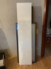 IKEA BESTÅ Deckplatte Glas weiß180x40