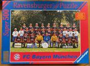 Altes Puzzle FC Bayern München
