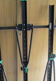 Fahrraddachgepäckträger für 3 Fahrräder