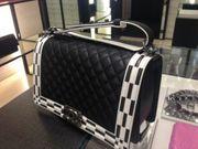 Chanel Boy Bag Medium Schwarz