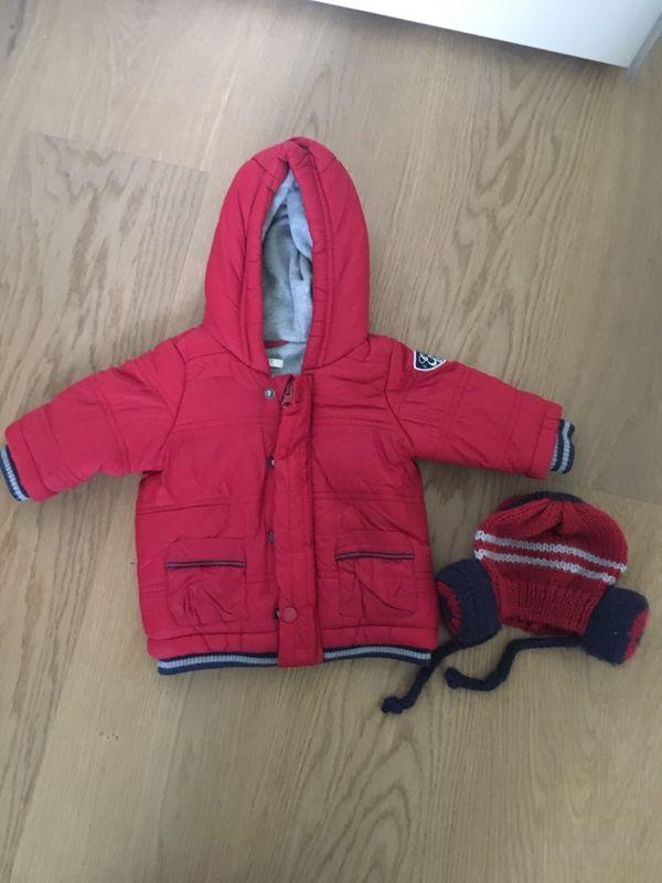 Baby Winterjacke Gr 62 inkl