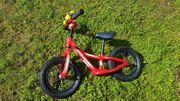 Cooles rotes Kinder-Laufrad - 12 Zoll -