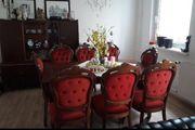 Barock Stühle 8x mit Tisch